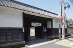 響忍寺の長屋門