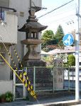 中屋町の道標
