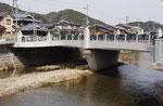 盛明橋(下流側より)