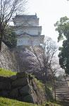 明石城の坤櫓、西側から