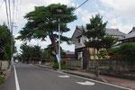 五個荘三俣町の街道風景