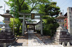 東海道から見た和田神社