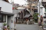 芥川宿の一里塚