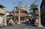 新宮神社の鳥居