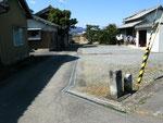 松永神社西の道標