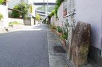 有野町五社の道標と道路元標