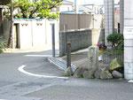四郷町山脇の道標