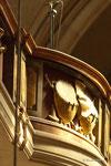 Detail einer Ballustrade im St. Veit Dom
