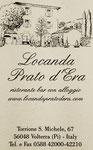 Ristorante Bar e B&B : Torrione San Michele,67 Località Prato d'Era VOLTERRA