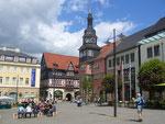 Eisennach: Marktplatz mit Rathaus