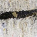 Acryl mit Asche  100x100cm