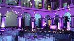 dj para bodas en Ex Convento de Regina en iluminación morada