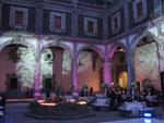 dj para bodas en Museo Interactivo de Economía iluminación