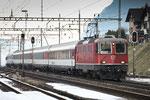 Re 4/4, 11146, Amsteg-Silenen (17.12.2013) ©pannerrail.com