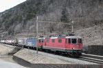 Re 4/4, 11322, Giornico (28.02.2013) ©pannerrail.com