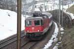 Re 4/4, 11220, Intschi (28.02.2013) ©pannerrail.com