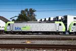 BLS Re 485 009-5, Rotkreuz (03.09.2013) ©pannerrail.com