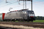 MRCE Dispolok BR 189 ES 64 F4-082, Oberrüti (05.07.2013) ©pannerrail.com
