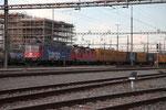 """Re 6/6 11674 """"Murgenthal"""", Rotkreuz (26.04.2012) ©pannerrail.com"""