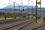"""Re 6/6 11687 """"Bischofszell"""", Oberrüti (23.04.2012) ©pannerrail.com"""