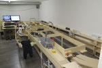 Baustelle: Einen Überblick über den gesamten rechten Anlageteil
