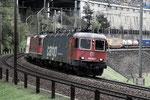 """Re 6/6 11687 """"Bischofszell"""", Wassen (11.05.2013) ©pannerrail.com"""
