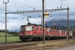 """Re 6/6 11606 """"Turgi"""", Oberrüti (12.05.2013) ©pannerrail.com"""