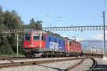 "Re 6/6 11661 ""Gampel-Steg"", Sargans (17.08.2011) ©pannerrail.com"