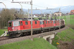 "Re 4/4, 11239 ""Porrentruy"", Rotkreuz (18.04.2013) ©pannerrail.com"
