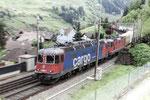 """Re 6/6 11687 """"Bischofszell"""", Wassen (24.05.2013) ©pannerrail.com"""