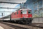 Re 4/4, 11111, Erstfeld (03.08.2013) ©pannerrail.com