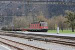 """Re 6/6 11611 """"Rüti"""", Wesen (13.04.2012) ©pannerrail.com"""