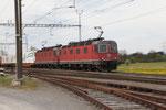 "Re 6/6 11672 ""Balerna"", Oberrüti (23.04.2012) ©pannerrail.com"