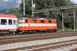 """Re 4/4, 11108, """"Swiss-Express"""", Sargans (16.08.2011) ©pannerrail.com"""