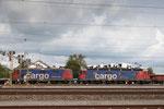 """Re 6/6 11687 """"Bischofszell"""", Rotkreuz (11.09.2013) ©pannerrail.com"""