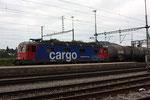 "Re 6/6 11661 ""Gampel-Steg"", Killwangen (03.08.2011) ©pannerrail.com"