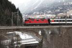 Re 4/4, 11220, Airolo (28.02.2013) ©pannerrail.com