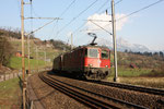 "Re 6/6 11671 ""Othmarsingen"", Steinen (23.03.2012) ©pannerrail.com"