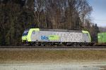 BLS Re 485 006-1, Sins (01.02.2014) ©pannerrail.com