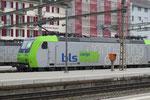 BLS Re 485 008-7, Olten (29.01.2014) ©pannerrail.com