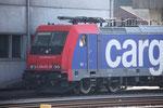 SBB Re 484 010-4, Bellinzona (12.03.2014) ©pannerrail.com