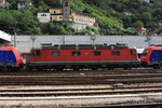 """Re 6/6 11685 """"Sulgen"""", Bellinzona (26.09.2010) ©pannerrail.com"""