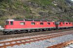 """Re 6/6 11682 """"Pfäffikon SZ"""", Biasca (17.04.2012) ©pannerrail.com"""