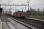 """Re 6/6 11687 """"Bischofszell"""", Oberrüti (16.04.2012) ©pannerrail.com"""