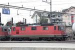 Re 4/4, 11311, Rotkreuz (30.12.2013) ©pannerrail.com