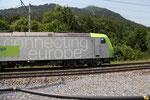 BLS Re 485 001-2, Mülenen (30.06.2012) ©pannerrail.com