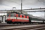 """Re 4/4, 11108, """"Swiss-Express"""", Rotkreuz (20.09.2013) ©pannerrail.com"""