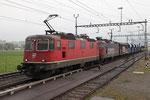 Re 4/4, 11317, Oberrüti (16.04.2013) ©pannerrail.com