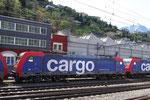 SBB Re 484 007-0, Bellinzona (17.04.2012) ©pannerrail.com