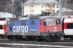 Re 4/4, 11310 (420 310-5 Cargo), Brig (03.01.2014) ©pannerrail.com